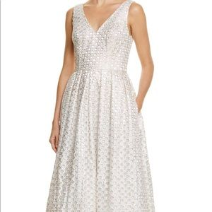 White Eyelet JS Collections Gown